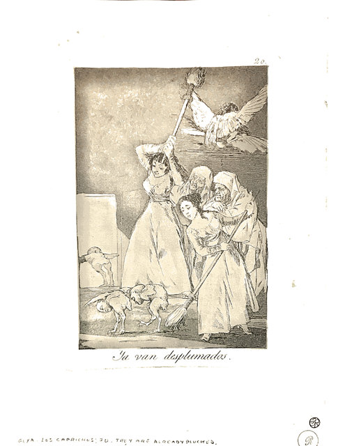 Francisco de Goya, 'Ya van desplumados', 1904, Broadway fine Art