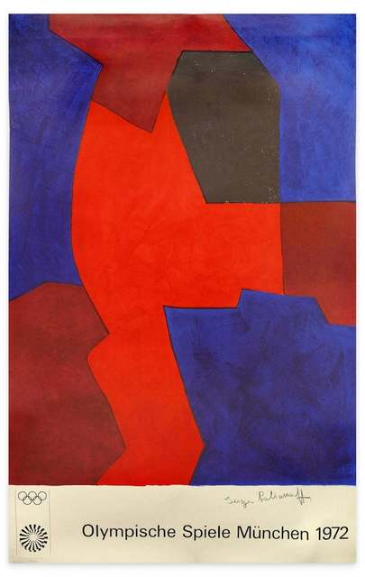 Serge Poliakoff, 'Munich Olympic Games (After S. Poliakoff)', 1972, Wallector