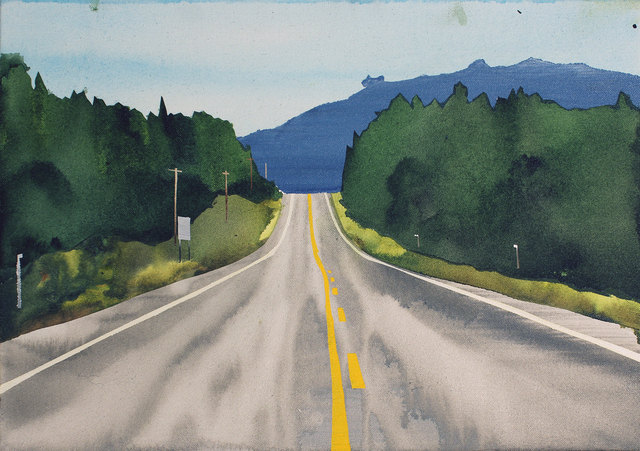 , 'Highway 16,' 2015, Angell Gallery
