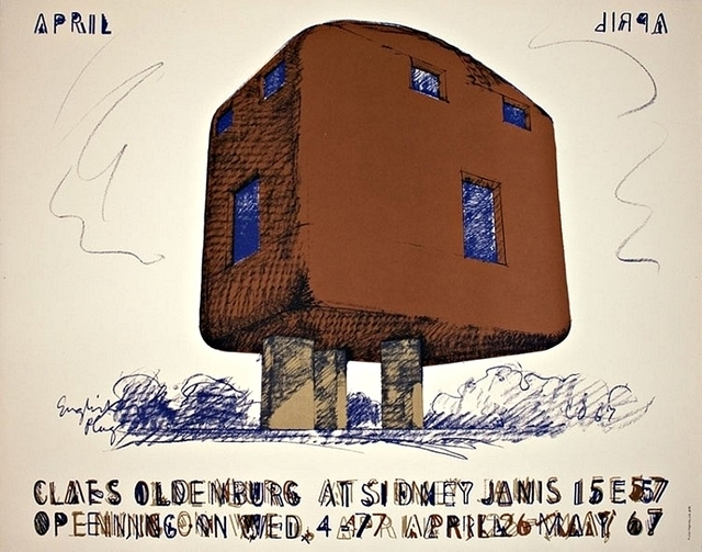 Claes Oldenburg, 'Claes Oldenburg at Sidney Janis 15 E 57 Opening, May 1967 Gallery Poster HOLIDAY SALE TAKE 20% OFF NEXT THREE WEEKS', 1967, David Lawrence Gallery