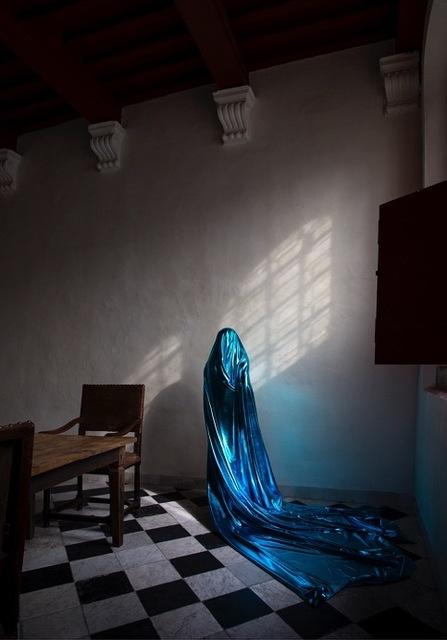 , 'Blue, Oude Kerk Amsterdam,' 2016, Marian Cramer Projects