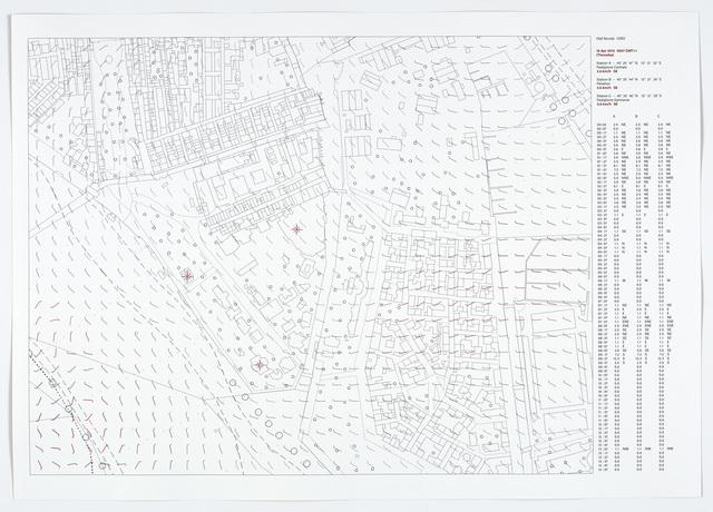 Olaf Nicolai, 'Windkarte, 2015', 2015, Galerie Sabine Knust