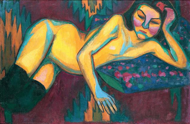 , 'Yellow Nude,' 1908, Tate Modern
