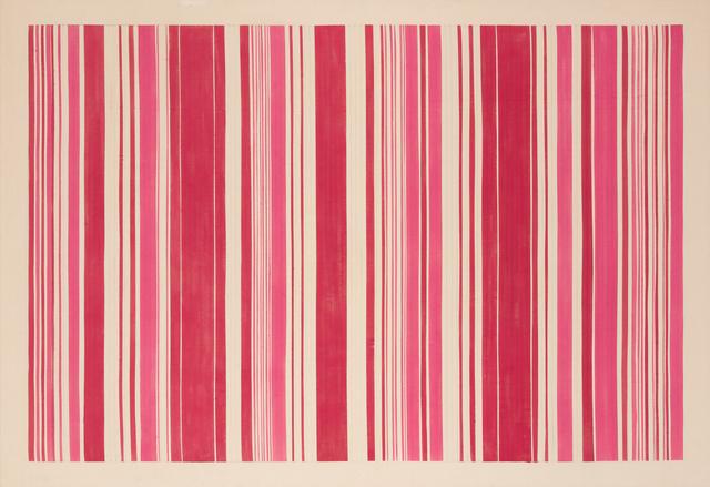 Gene Davis, 'Pink Gun', 1980, Painting, Acrylic on canvas, Hollis Taggart