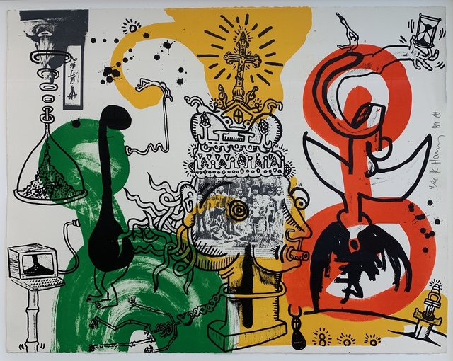 Keith Haring, 'The King', 1989, Artificial Gallery