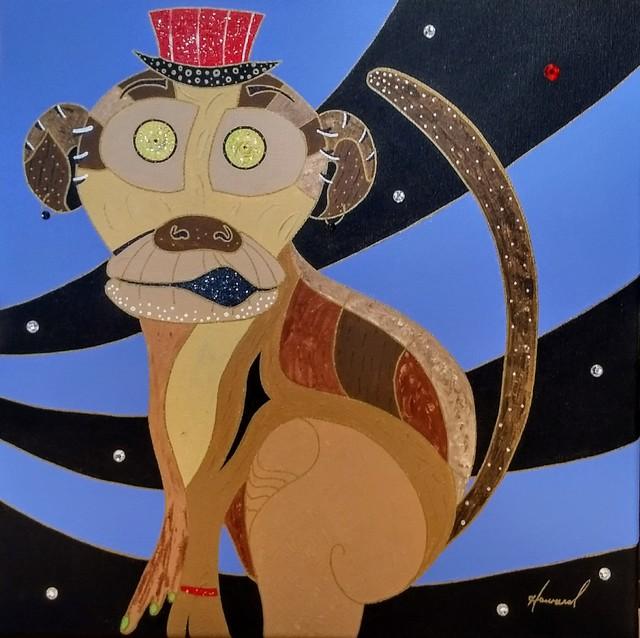 , 'No One Tames the Wild Monkey ,' ca. 2017, Brickworks Gallery