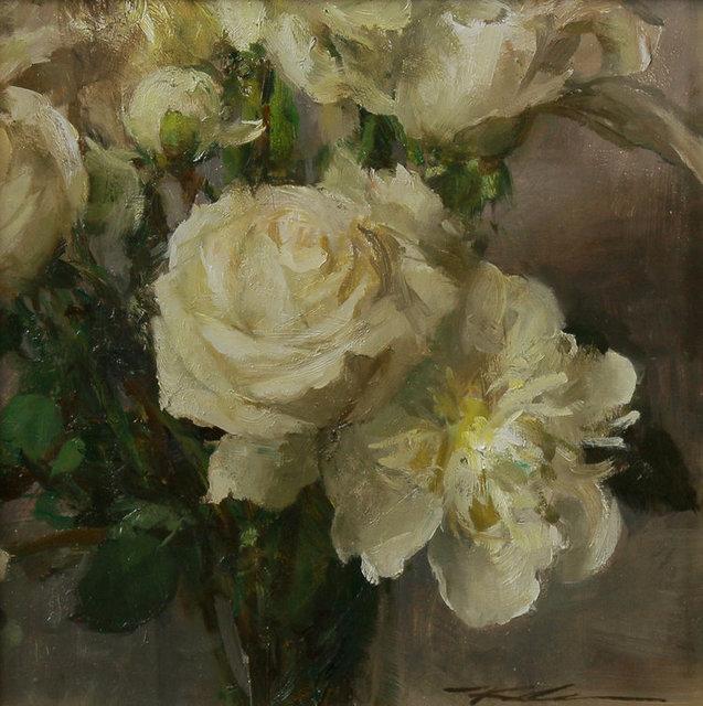 , 'White Bouquet,' 2018, Maxwell Alexander Gallery