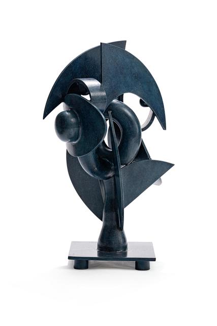 Edoardo Villa, 'Blue Abstract Form', 2001, Strauss & Co