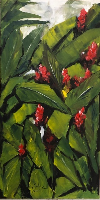 , 'Ginger Lilies,' 2019, Susan Mains Gallery