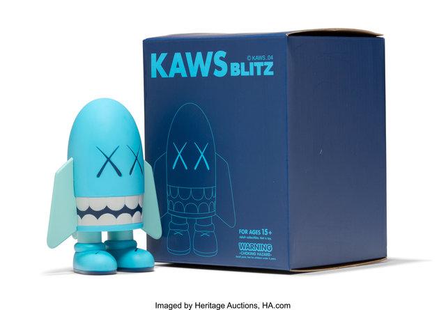 KAWS, 'Blitz (Blue)', 2004, Heritage Auctions