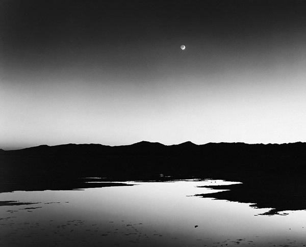 , 'Dusk, Bonneville Salt Flats,' 1999, Robert Mann Gallery