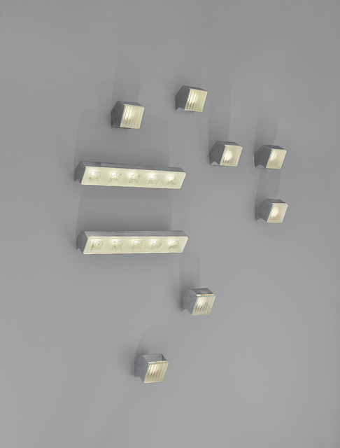 Max Ingrand, 'Set of seven wall lights, model no. 2140, and two, model no. 2139', 1955-1960, Phillips