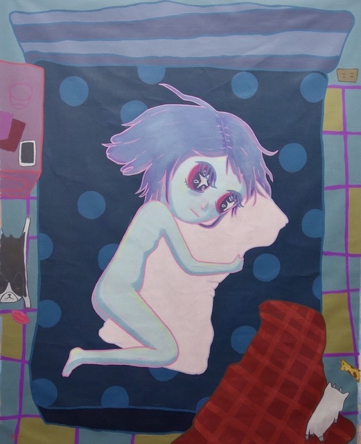 , 'This used to be you but now it's just a pillow,' 2017, NUNU FINE ART