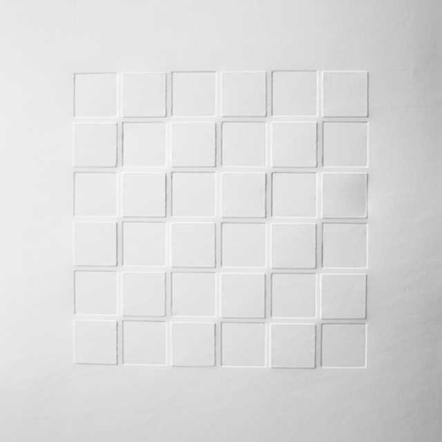 , 'Grid in light and shadow 1,' 2019, Galerie Franzis Engels