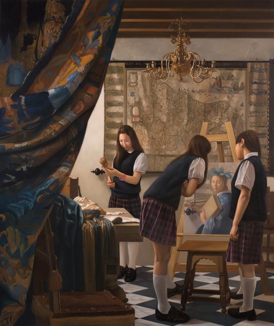 , 'Anecdotes in Art History III - Vermeer Class Room,' 2017, Artemis Art