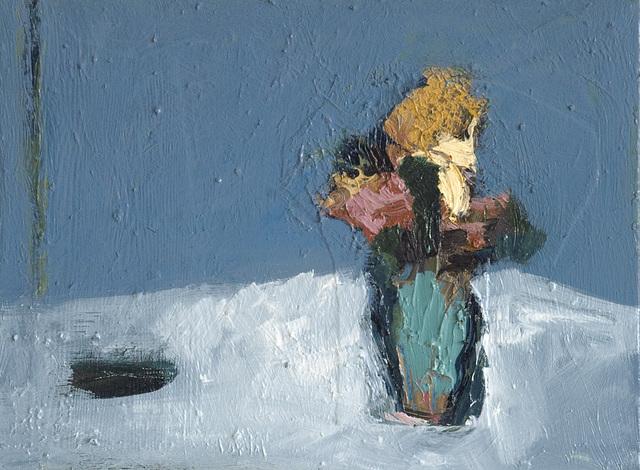 Jennifer Hornyak, 'Naples Yellow in Blue Space', 2019, Galerie de Bellefeuille