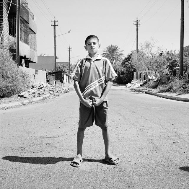 , 'Athlete, Baghdad, Iraq,' 2003, Galerie Julian Sander