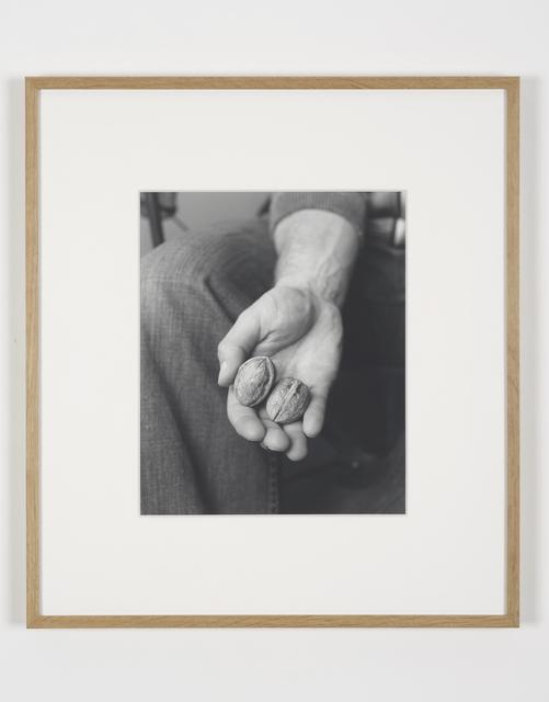 , 'Walnut Hand,' 2014, Francesca Minini