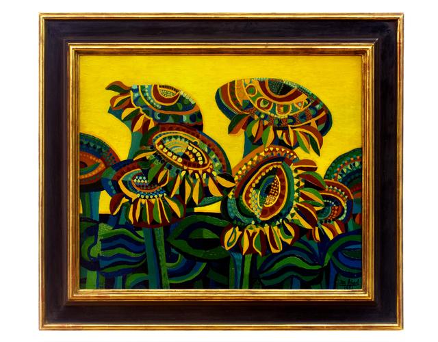 , 'Sonnenblumen (Sunflowers),' 1951, Hagemeier