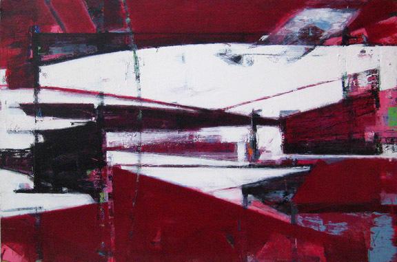 , 'You are Here Crimson,' 2003, FP Contemporary