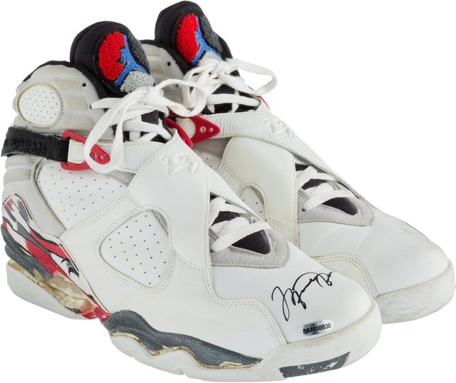 new product 888e8 5537d Air Jordan | 1992-93 Michael Jordan Game Worn & Signed ...
