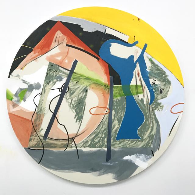 Trevor Kiernander, 'Le dejeuner sur l'herbe', 2021, Painting, Oil, acrylic, charcoal, and oil stick on canvas, Art Mûr