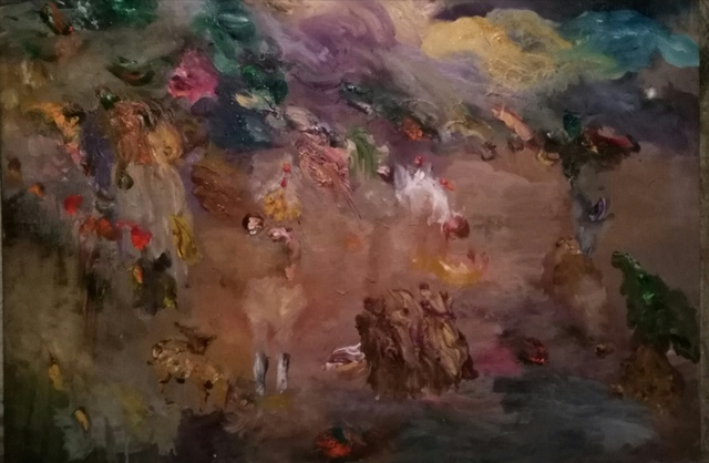 , 'Misty,' 2018, Drina Gallery