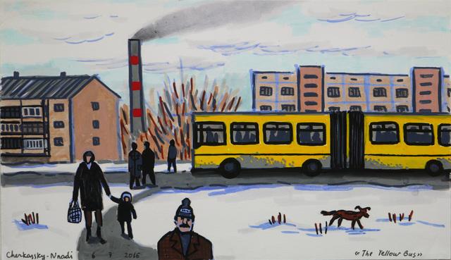 , 'The Yellow Bus,' 2016, Rosenfeld Gallery