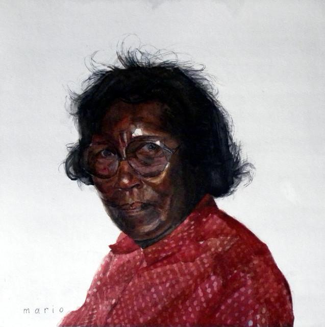 Mario A. Robinson, 'Mrs. Johnson', 2011, Morton Fine Art