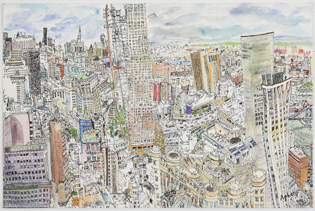 , 'Lower Manhattan West,' 2011, Mindy Solomon Gallery