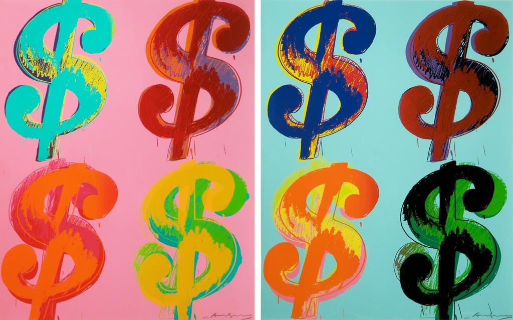 Andy Warhol, '$ (4) (Portfolio of 2),' 1982, Collectors Contemporary