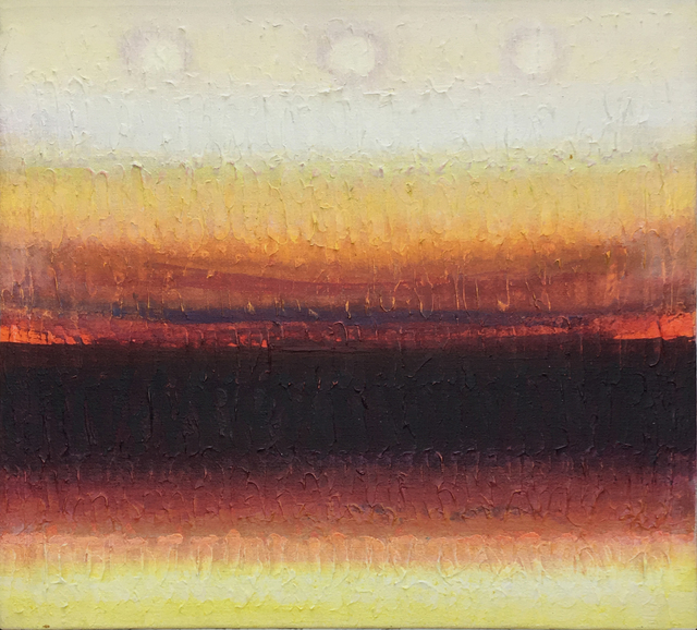 Lawrence Calcagno, 'Horizon With Red', 1979, 203 Fine Art