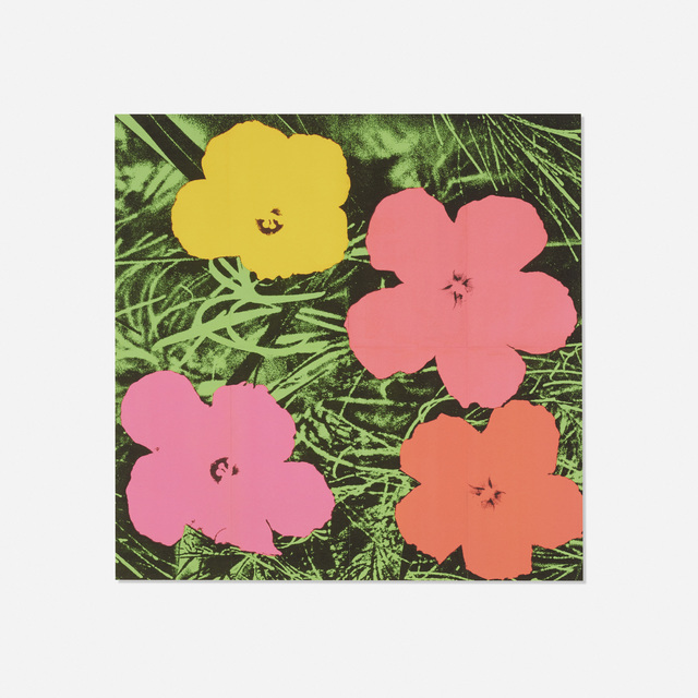 Andy Warhol, 'Flowers (Castelli Mailer)', 1964, Print, Offset lithograph on paper, Rago/Wright