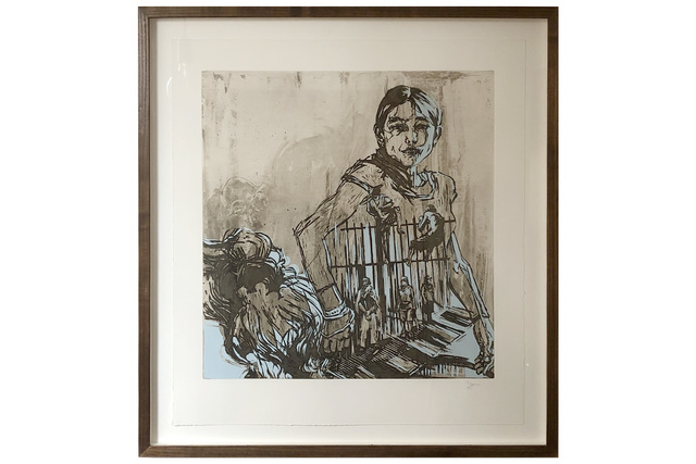 Swoon, 'Argentina', 2008, Print, Two plate etching and screenprint, Chiswick Auctions