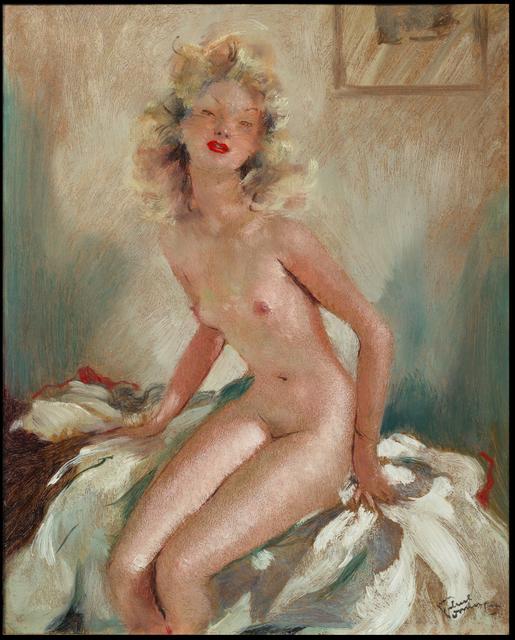, 'Nu assis,' ca. 1950, Galerie de Souzy