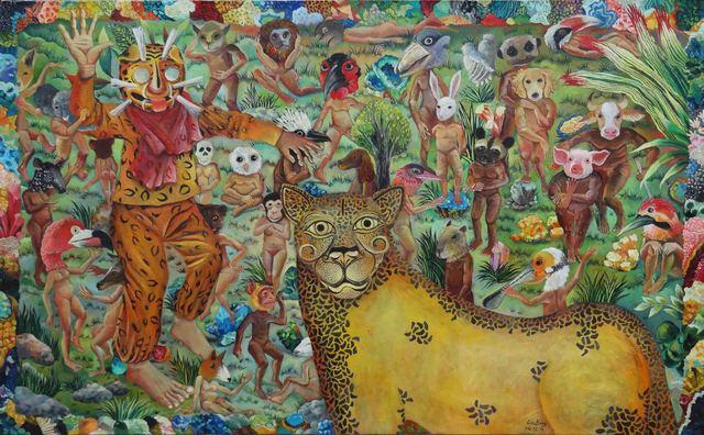 , 'A Leopard in Darwin Island,' 2014, Line Gallery