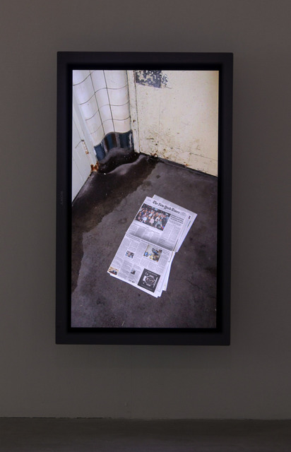 Siebren Versteeg, 'Today's Paper', 2011, bitforms gallery