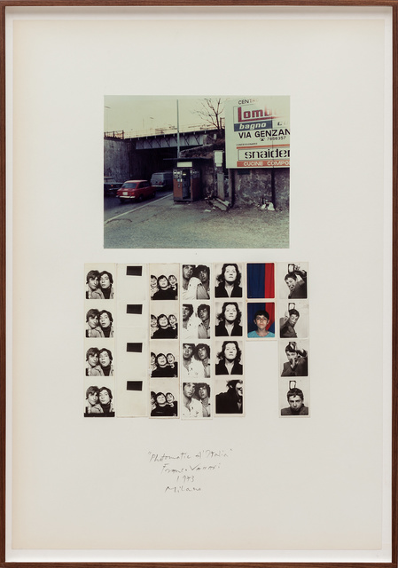 , 'Photomatic d'Italia (Milano),' 1973, SAGE Paris