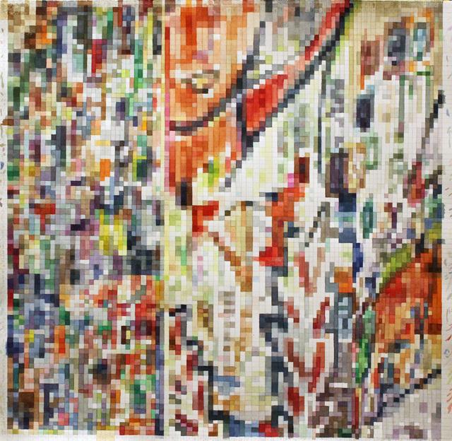 , 'paintingassupermodelaswatercolor,' 2019, Federico Luger (FL GALLERY)