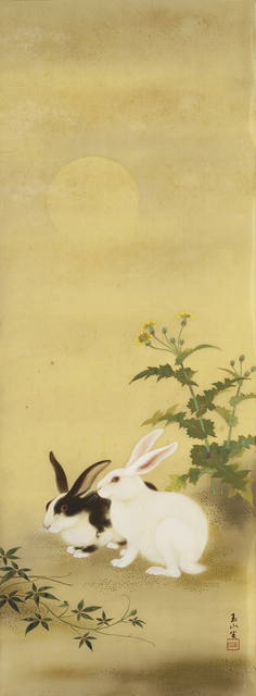 , 'Hares at Night,' 1939, Taipei Fine Arts Museum