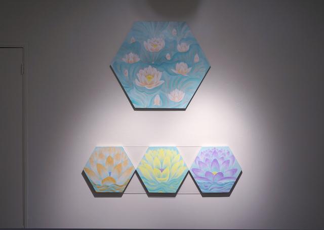 """Jin Sil Kim, '(Top) """"My Lotus H2', 2017, LA Artcore"""