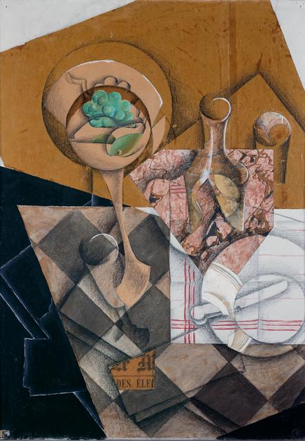 Juan Gris, 'The fruit bowl', 1914, Kröller-Müller Museum