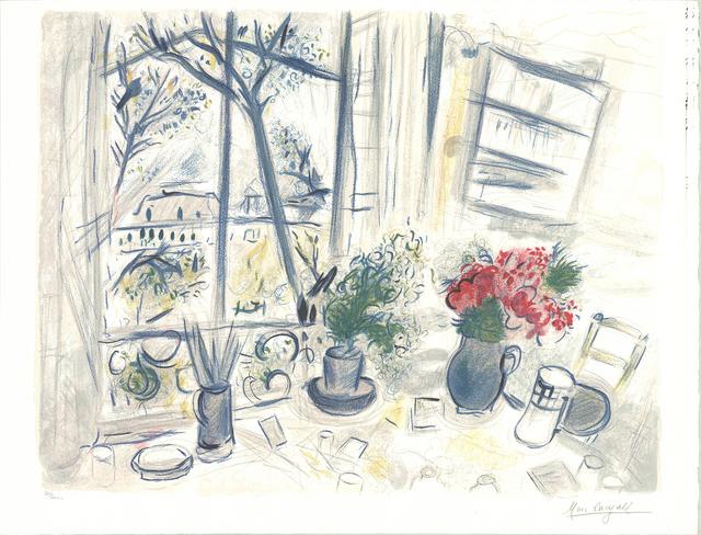 Marc Chagall, 'Fleurs du Parc', 1988, Ephemera or Merchandise, Lithograph, ArtWise