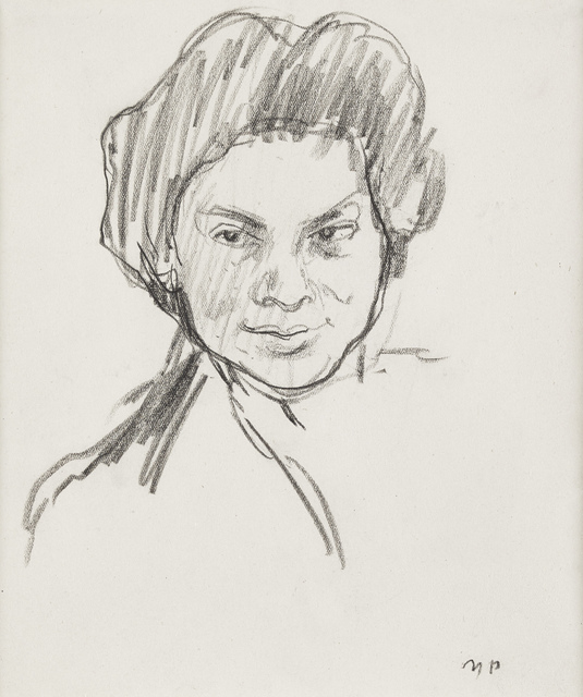 , 'Lady with the dark eyes,' ca. 1930, The Scottish Gallery