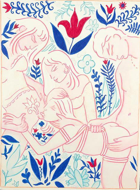 , 'Training of the New Girl,' 2015, OLSEN GALLERY