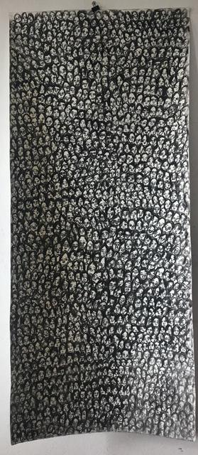 Nelly Guambe, 'Faces (5)', 2019, Ed Cross Fine Art