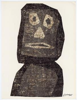 Jean Dubuffet, 'Original lithograph', 1958, Artsnap