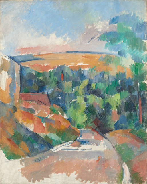 Paul Cézanne, 'The Bend in the Road,' 1900/1906, National Gallery of Art, Washington, D.C.