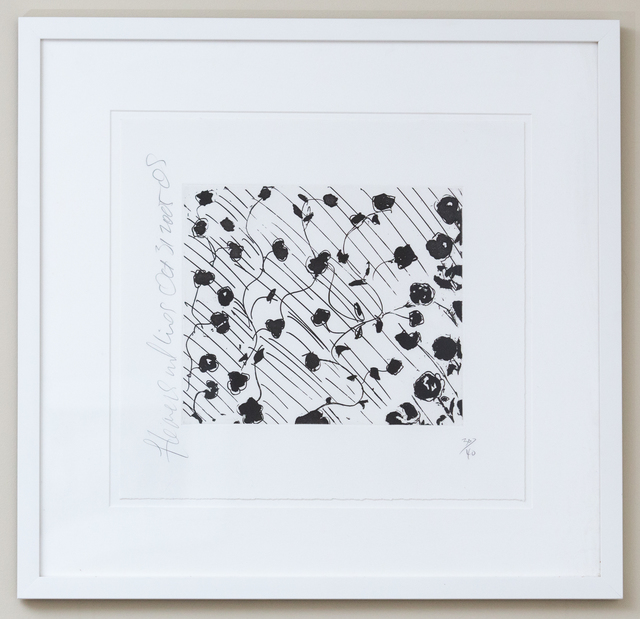 Donald Sultan, 'Flowers and Lines', 2005, Friends Seminary Benefit Auction