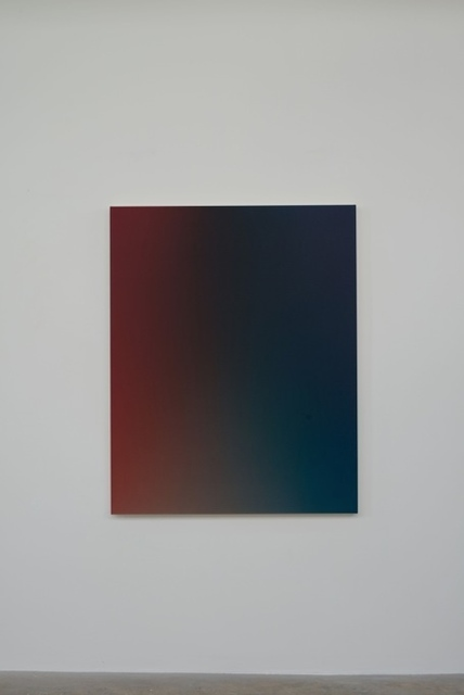 , 'Fade XXVII Deep Red Trans Blue Green / OMS 493, 2014Acrylic on canvas150 x 120 x 4.5 cm,' 2014, Vigo Gallery